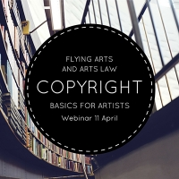 Webinar: Copyright Basics for Artists with Flying Arts