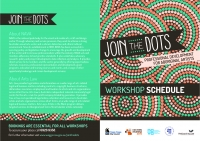 Arts Law at Wagga Wagga's 'Join the Dots' Professional Development for Aboriginal Artists