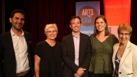 Hearts for Arts Law Stage and the law event successful