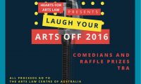 Hearts for Arts Law presents Laugh Your Arts Off 2016